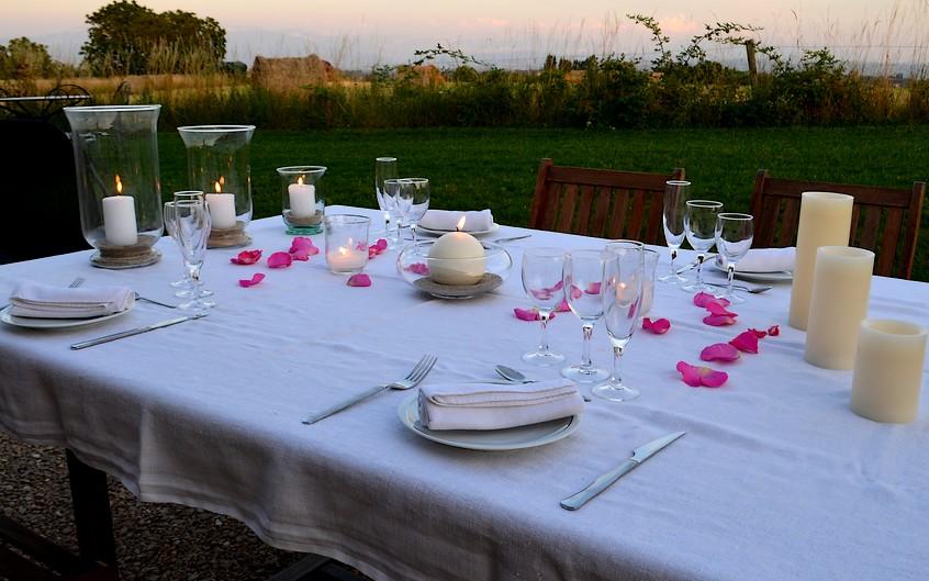 table-hotes-diner-terrasse-dolomieu